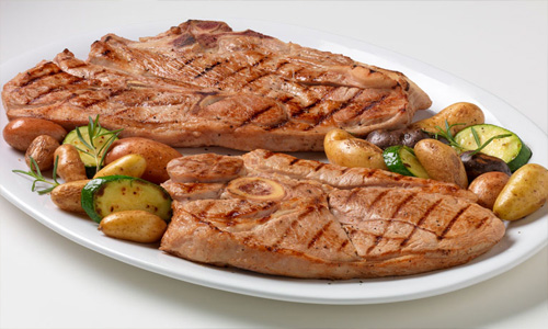 Citrus-Herb Marinated Veal Steaks