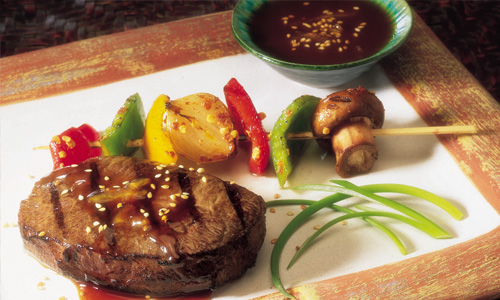 Citrus Ginger Teriyaki Steak